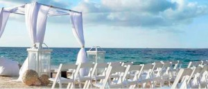 The W Hotel in Vieques is one of Puerto Rico's most popular wedding locations.