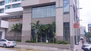 "The ""Colaboratorio"" is located on Antonsanti Street in Santurce."