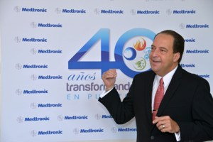 Felix Negrón, vice president of operations at Medtronic in Puerto Rico.
