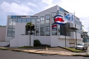 Exterior view of BlueCross BlueShield Costa Rica building, located in San José, Costa Rica.