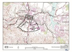 Rendering of the Cidra Superfund site. (Credit: EPA)