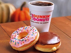 Dunkin' Donuts established itself in Puerto Rico in 2001.