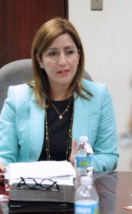 Nancy Navales, vice president of Toyota of Puerto Rico.