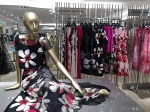 Carolina Herrera designs are part of the Saks Fifth Avenue Puerto Rico collection.
