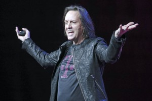 T-Mobile CEO John Legere speaks during the Un-carrier 9.0 event, Wednesday in New York, explaining the carrier's approach to business with a new simple, straightforward and transparent plan. (John Minchillo/AP Images for T-Mobile)