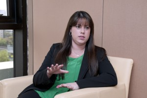 Stefanie Vaello, Aon's director of property and casualty claims.