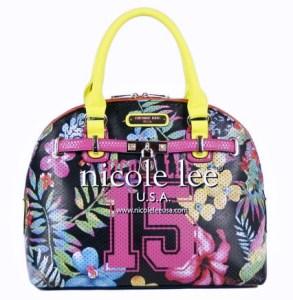 Nicole Lee's distinctive handbag designs were allegedly replicated in accessories Novus Inc. sold.