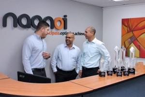 From left: Nagnoi executives Guillermo Caicedo, José Luis Rivera, and Alan Koo.