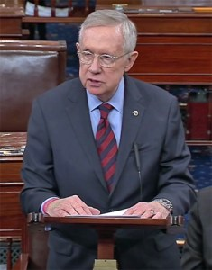 Nevada Senator Harry Reid