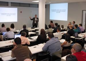 Keith McGreggor, Venture Lab Director, entrepreneur, and veteran I-Corps instructor, offers a seminar.