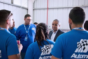 Automeca Technical College students will benefit from the partnership with Puma Energy.