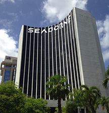 Seaborne' s headquarter offices are located in the building considered one of the tallest and most emblematic in the business zone.