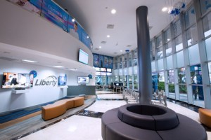 Liberty's new modern customer service center recently opened in Hato Rey.