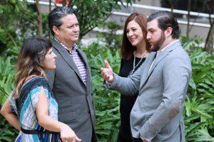 Angimielle Latorre and Dana Montenegro from SeriouslyCreative, Nelia Villanueva and Antonio Duarte from DuartePino.