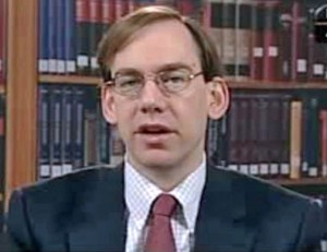 Author John A. E. Pottow, is a John Philip Dawson Collegiate Professor of Law, and an internationally recognized expert in the field of bankruptcy and commercial law. (Credit: CSPAN)