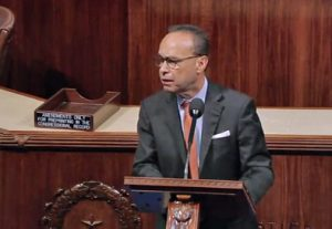 Puerto Rico-born Congressman Luis Gutiérrez broke rank from his Democratic peers and ripped into the PROMESA act.