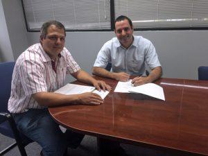 Puerto Rico Home Insurance co-founders Luis F. López-Córdova and Javier Cortés-Gónzalez.