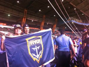 Jacksonville Armada fans show their support of their team during the recent match-up with the Puerto Rico Football Club. (Credit: Diego Andres Cantor)