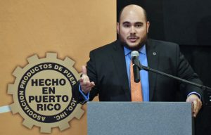Puerto Rico Products Association President Ramón Pérez-Blanco.