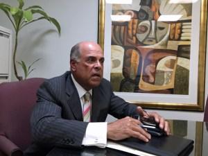 Financial Institutions Commissioner Rafael Blanco.