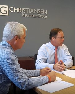 From left: Juan J. Del Nido, executive vice president and Ralph Christiansen, president of CIG.