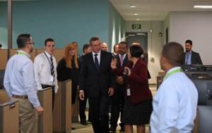 Gov. García-Padilla tours Lockheed Martin's new Aguadilla campus.