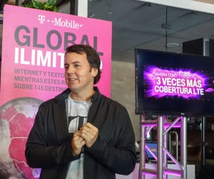 Jorge Martel, general manager of T-Mobile in Puerto Rico.