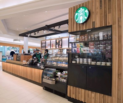 ff45cf10a4 Starbucks invests  500K in new Montehiedra shop. Starbucks Puerto Rico  opened its 24th store at The ...