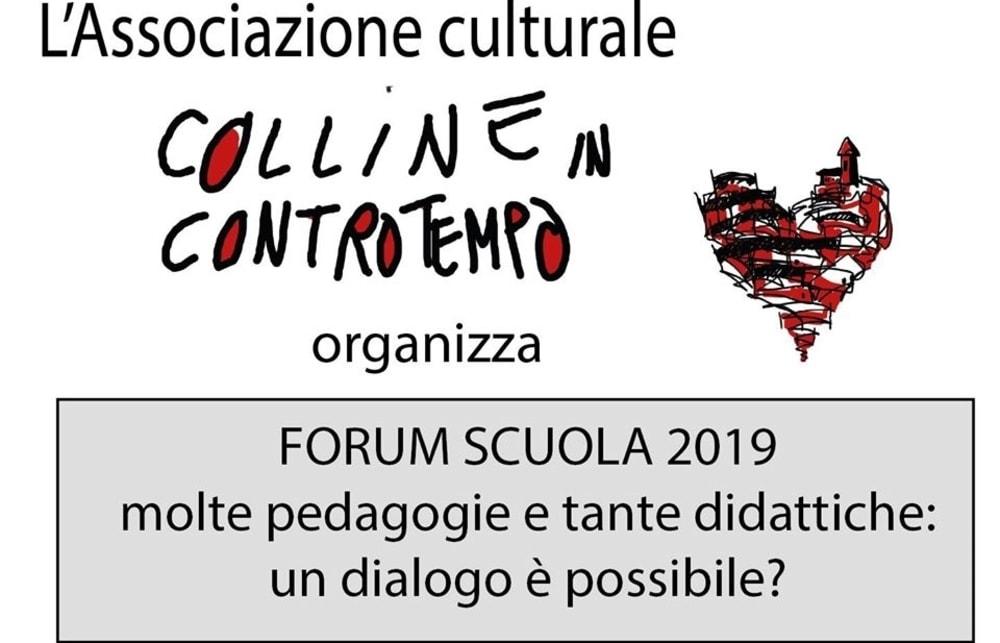 Forum Scuola 2019 a Vinchio, si parla di scuola da casa e nuovi metodi di insegnamento