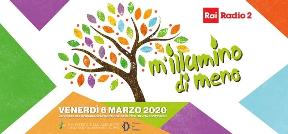 M'illumino di meno 2020: il 6 marzo la campagna di sensibilizzazione sul risparmio energetico