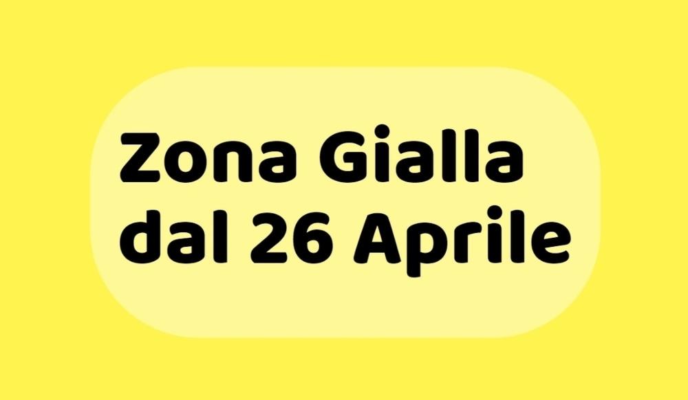 """Riaperture, il premier Draghi: """"Dal 26 aprile torna la zona gialla"""""""