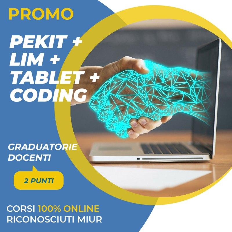 corsi pekit, lim, tablet e coding