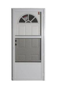 6 Panel Plastic Fan Combo Door