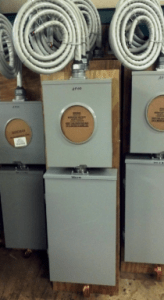 Mobile Home Power Boxes