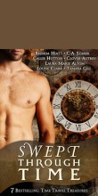 Cover of Swept Through Time, a time travel anthology that includes my novel, Ridgeway.