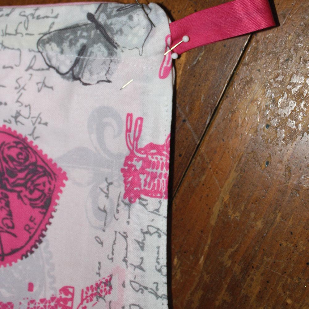 sewing 6 snap bag