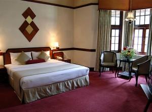 Accommodation at Grand Hotel, Nuwara Eliya, Sri Lanka