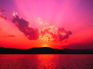 Sunset at Maravila, Negombo, Sri Lanka