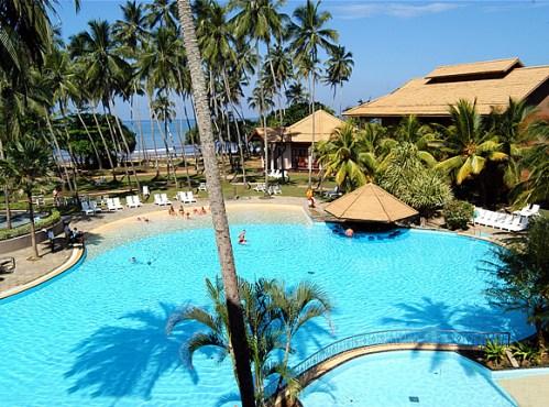 The Pool at Royal Palms Beach Hotel, Kalutara, Sri Lanka