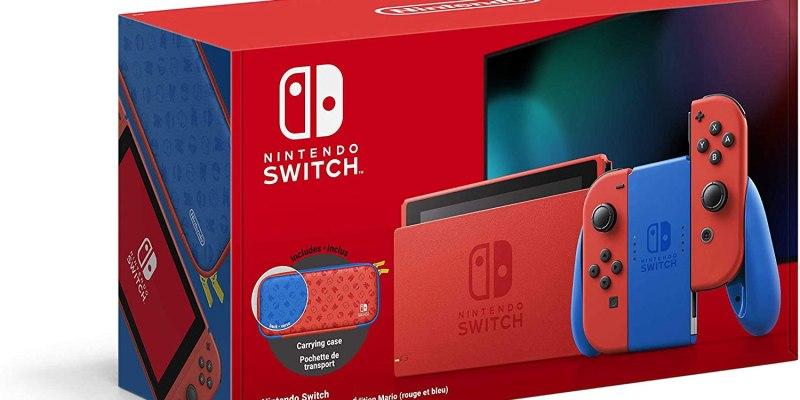 console-switch-mario-pas-cher