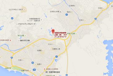 ユニバーサルスタジオ 沖縄 候補地 地図