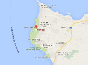 沖縄 usj 地図