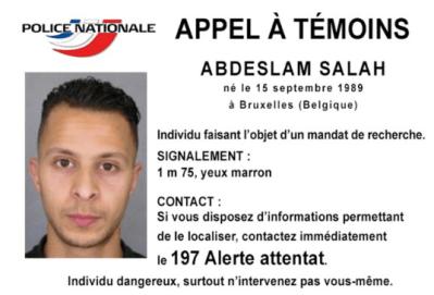 指名手配 誰? フランスパリ テロ事件