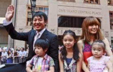 岩隈久志 子供 家族写真 顔画像