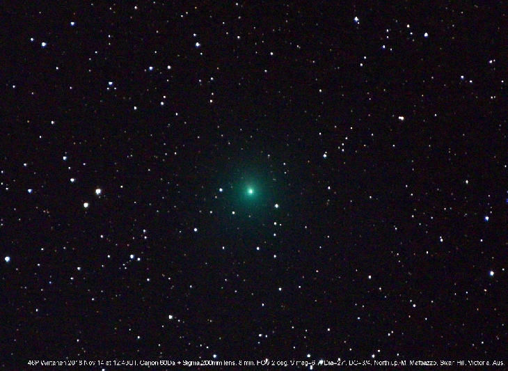 Rare chance to see glowing green comet is an early Christmas present