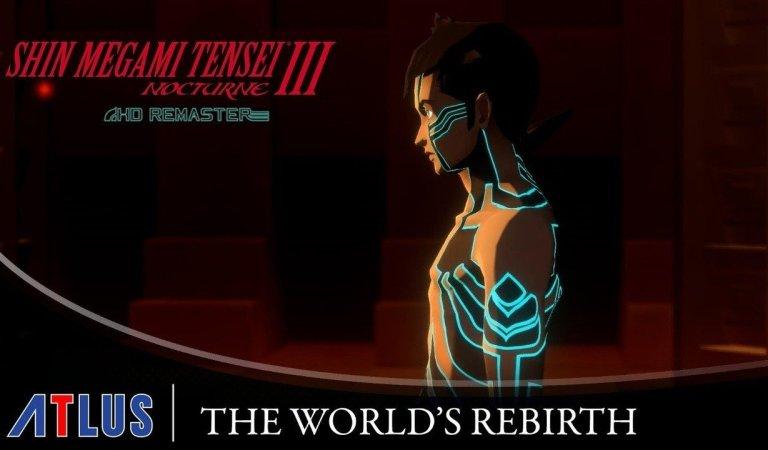 """Check Out Shin Megami Tensei III Nocturne HD Remaster's """"World's Rebirth"""" Story Trailer"""