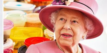 Queen Elizabeth packs 'large containers' of British food when travelling to certain places