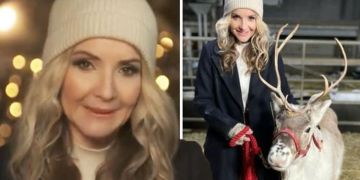 Helen Skelton warned she 'narrowly avoided injury' in reindeer clash 'Look it in the eye'