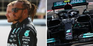 Valtteri Bottas and Mercedes suffer early setback in F1 pre-season testing in Bahrain