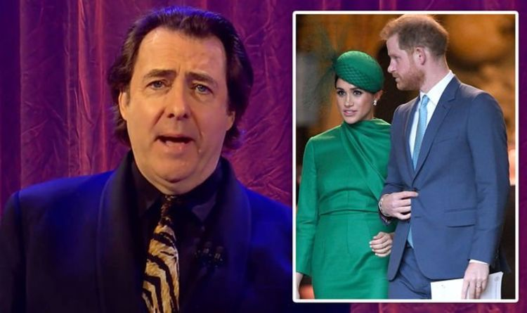 Prince Harry and Meghan's bombshell interview mocked by Jonathan Ross in triple swipe
